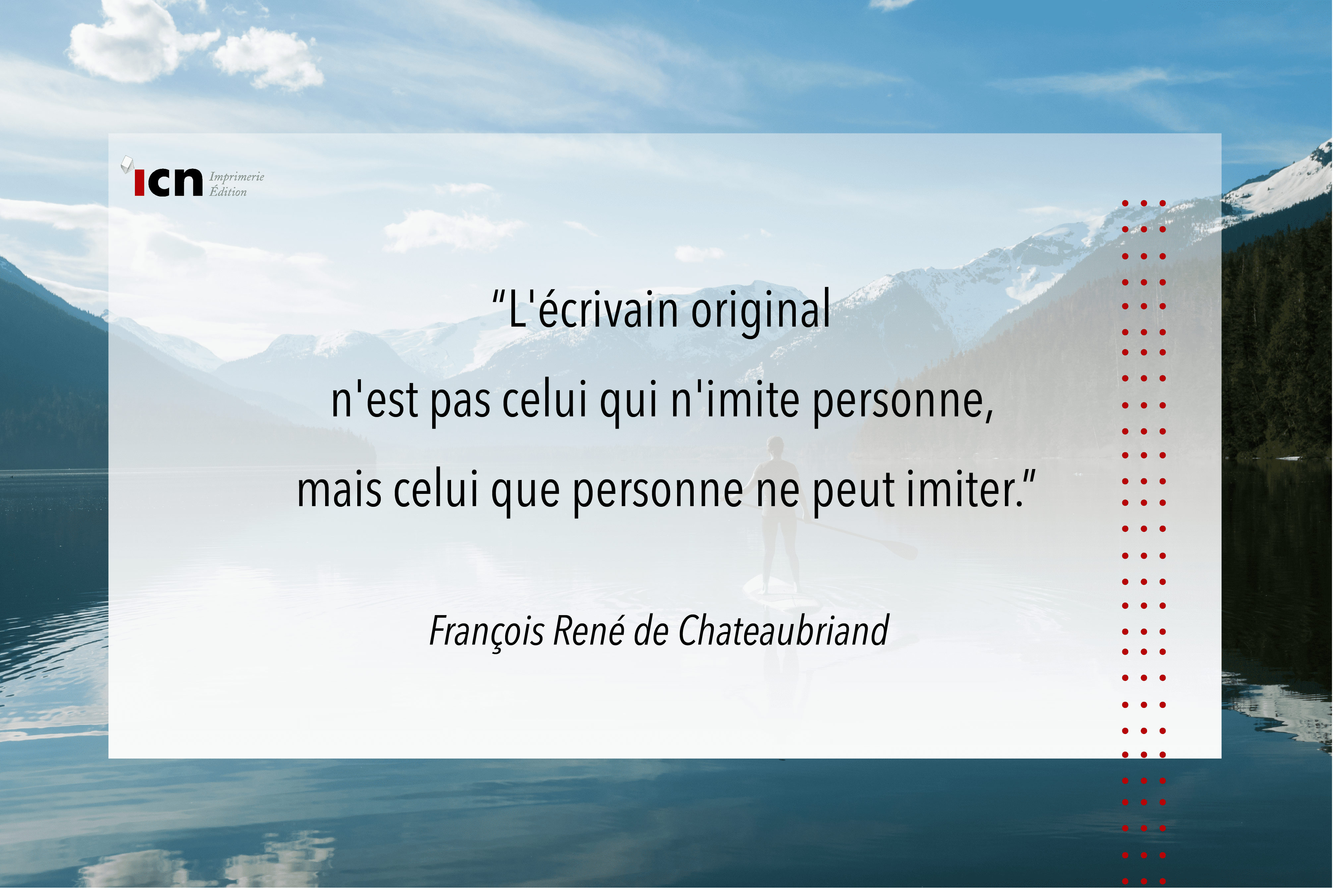 La citation du mois de mai – Chateaubriand